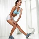 Estiramiento del tendón de la rodilla