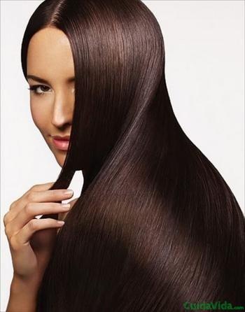 La queratina deja el cabello suave y liso