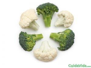 El brócoli y la coliflor te mantienen sano