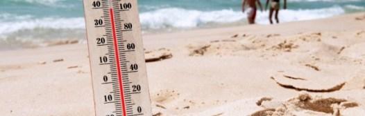 insolacion golpe de calor playa temperatura alta