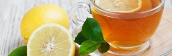 Cómo preparar té de limón casero