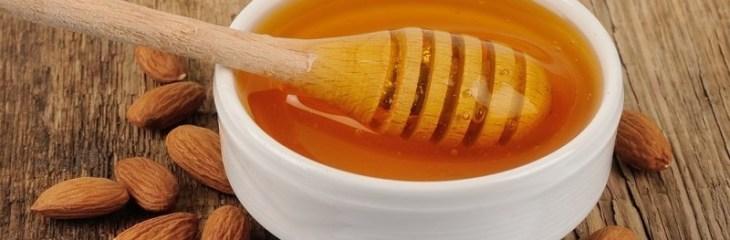 mascarilla miel almendras