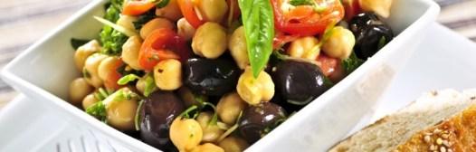ensalada proteinas legumbres