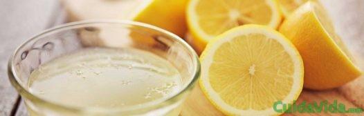 zumo limon exprimido