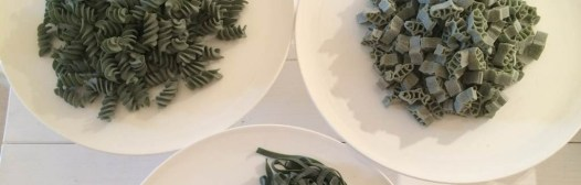 pasta con alga spirulina