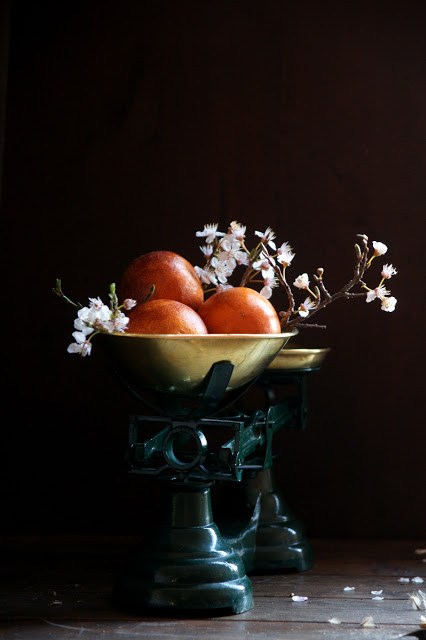 crema de cafè i taronja sanguina