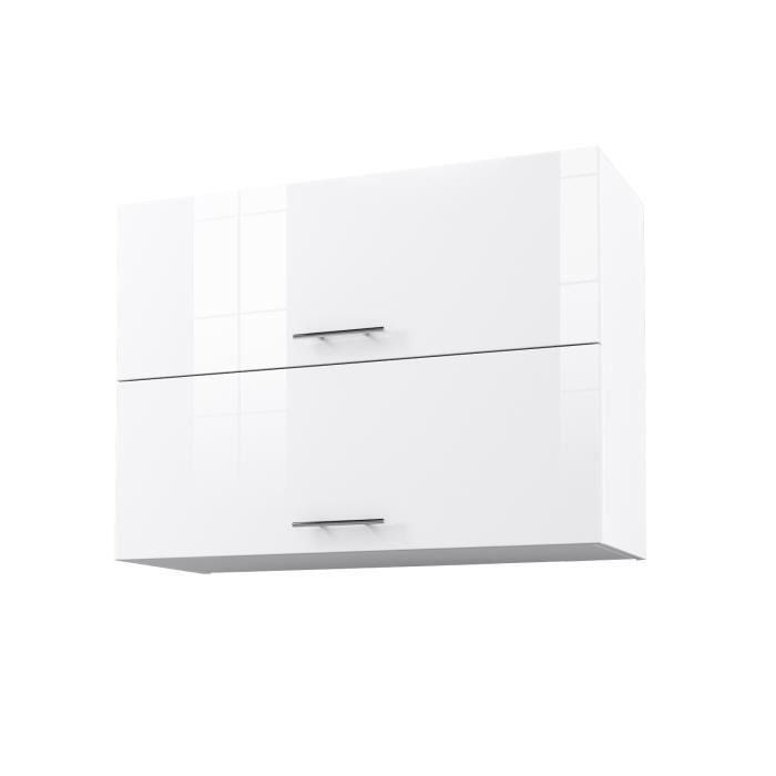 ensembles de cuisine blanc brillant start meuble haut de cuisine l 80 cm cuisine ameublement et decoration ensembles de cuisine
