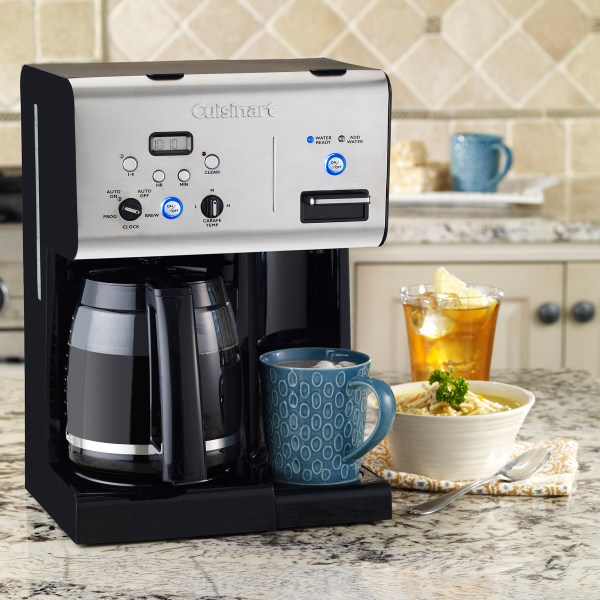 Coffee PLUS 12Cup Programmable Coffeemaker and Hot Water