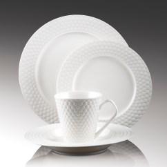 Refurbished Kitchen Table Backslash In 16-piece Set Porcelain Dinnerware - Chailles Collection ...