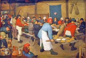 Repas_de_nocePieter_Bruegel_1561