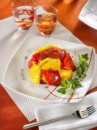 Recette de Salade de Poivrons Grillés