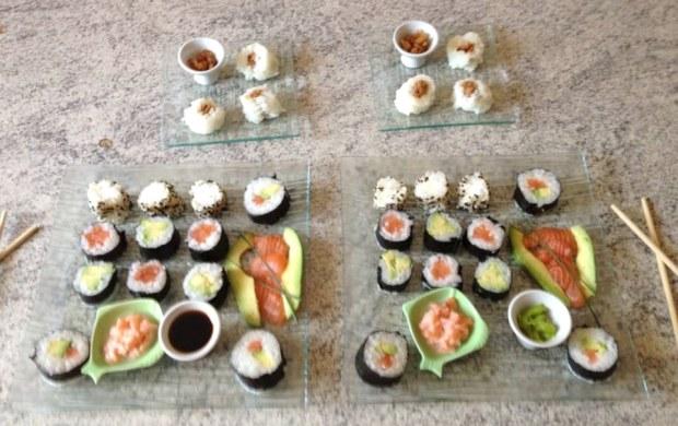 sushis final 2 620x390 - Sushis faciles à faire soi-même