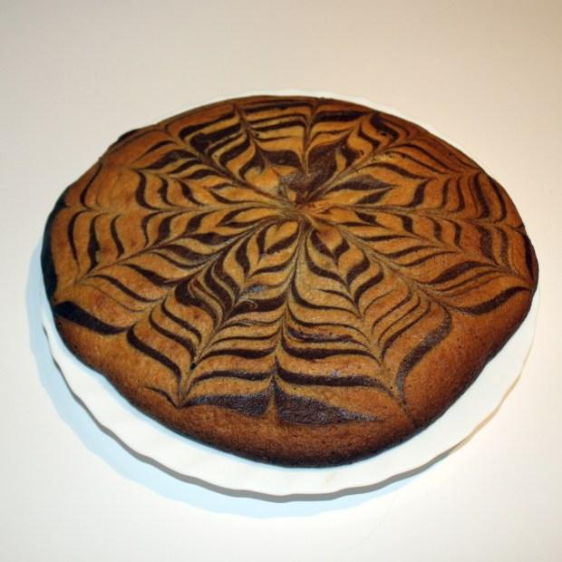 zebra cake millefeuille 2 chocolats 620x620 - Zebra Cake aux 2 chocolats façon millefeuille