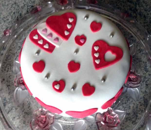 gateau coeurs 2 - Dossier : Recettes pour la Saint-Valentin