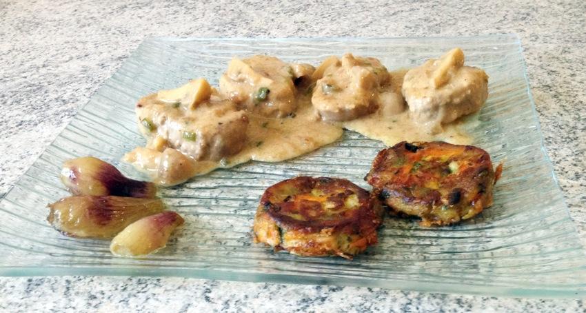 Recette de Filet mignon de porc au miel et au pain d'épices