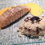 pave saumon sauce aurore 1 - Pavé de Saumon sauce Aurore