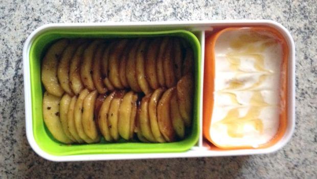 bento pommes poelees miel 2 - Partenariats