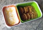 bento pommes poelees miel 4 - Bento Fromage blanc et Pommes poêlées au miel