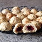 biscuits siciliens amande griotte 3 - Biscuits siciliens amande / griotte