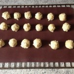 biscuits siciliens amande griotte prepa 2 - Biscuits siciliens amande / griotte