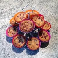 clafoutis griottes muffins 1 - Petits clafoutis aux griottes façon muffins