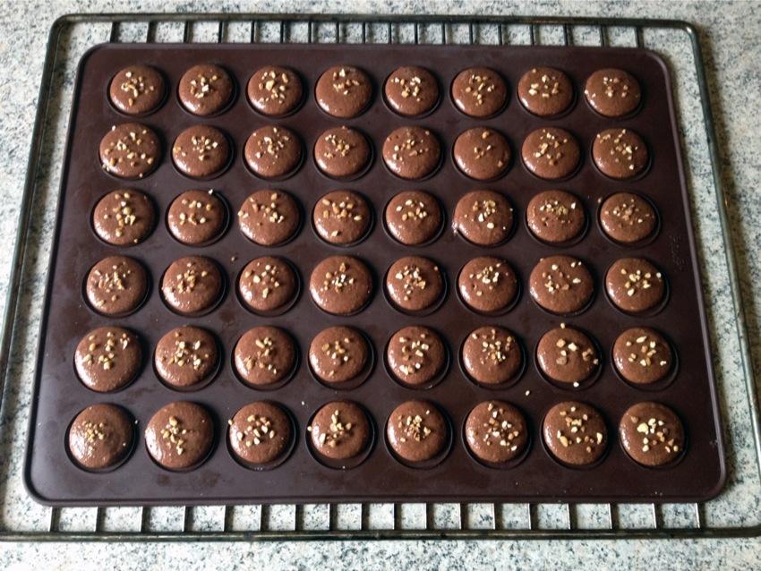 Recette de Macarons Pralinoise