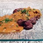 bavette sauce chasseur 2 - Bavette sauce chasseur