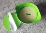 soupe courgettes chavroux 1 - Soupe de courgettes au Chavroux