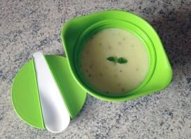 Recette de Soupe de courgettes au Chavroux