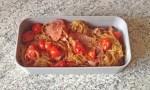 bento shirataki bacon tomates 2 - Bento shirataki de konjac sautés au bacon