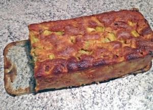 Recette de Cake fondant à la rhubarbe