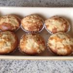 muffins crumble nutella 4 - Muffins au Nutella façon crumble