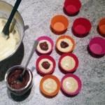 muffins crumble nutella prepa 1 - Muffins au Nutella façon crumble