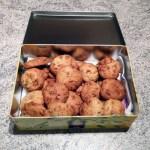 cookies fruits secs caramel 1 - Cookies aux fruits secs et caramel au beurre salé