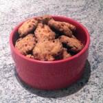 cookies poivron chorizo 2 - Cookies apéritifs au chorizo, poivron, parmesan