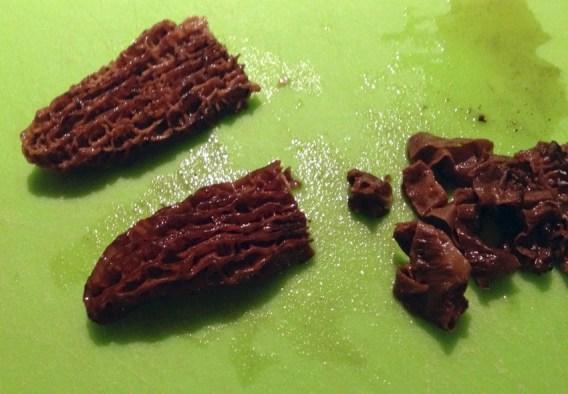 Recette d'Oeufs en cocotte aux morilles