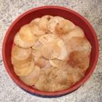 tatin navet chevre miel prepa 3 - Tarte Tatin aux navets, chèvre et miel