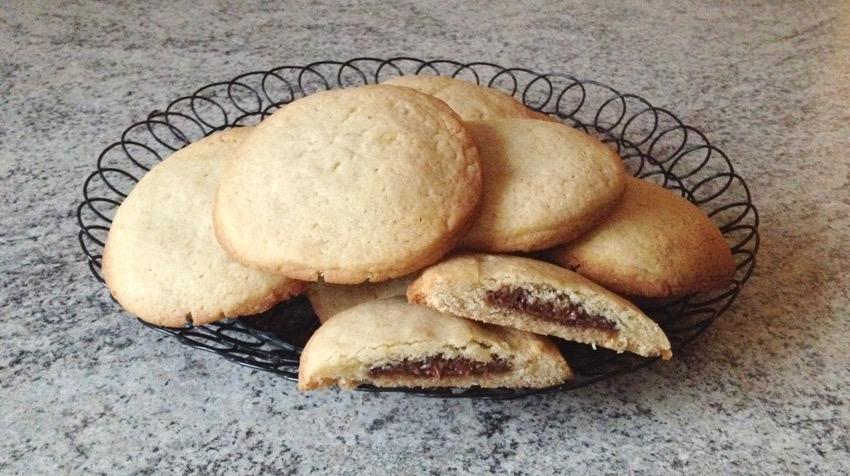 Recette de Cookies fourrés au Nutella (façon Starbucks)