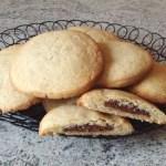 cookies nutella 2 - Cookies fourrés au Nutella (façon Starbucks)