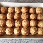 choux craquelin 2 - Choux à la crème pistache