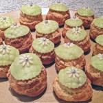 choux creme pistache 2 - Choux à la crème pistache