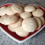 macarons craqueles amandes 1 - Macarons craquelés aux amandes