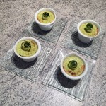 mousse courgettes saumon 2 - Mousses de courgettes au saumon fumé