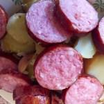 aucisse morteau pommes de terre prepa 4 - Poêlée de saucisse de Morteau et pommes de terres