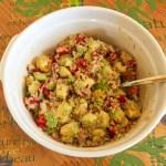 salade legumes quinoa 1 - Salade légumes et quinoa