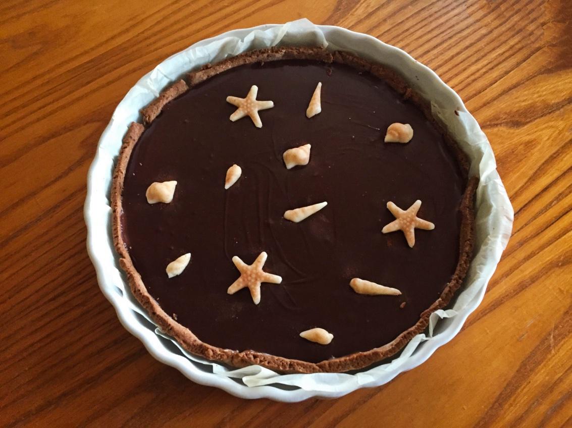 tarte chocolat caramel 1 - tarte-chocolat-caramel-1