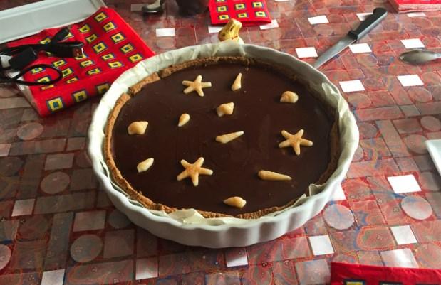 tarte chocolat caramel 2 - Dossier : Sélection de recettes pour Pâques