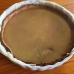 tarte chocolat caramel prepa 1 - Tarte au chocolat et caramel au beurre salé