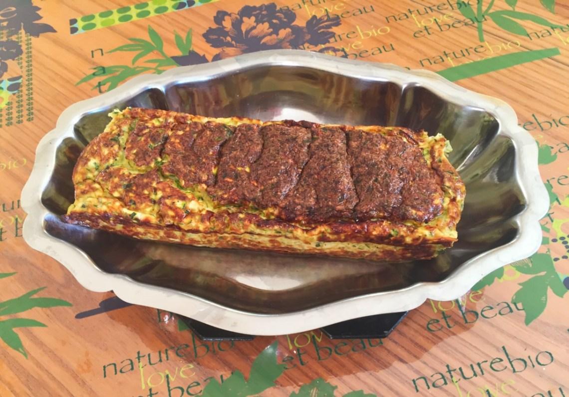 terrine courgettes chevre companion 1 - Terrine de courgettes au chèvre (recette au Companion)