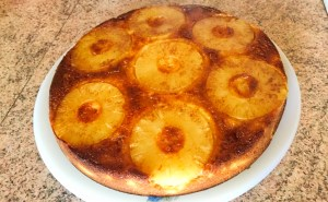 IMG 1066 - Gâteau renversé à l'ananas